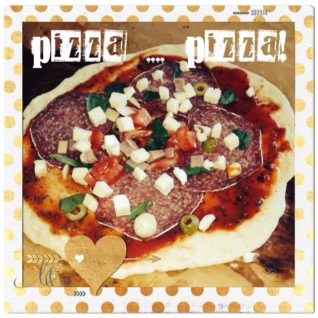 Pizza á la Zio Cosimo