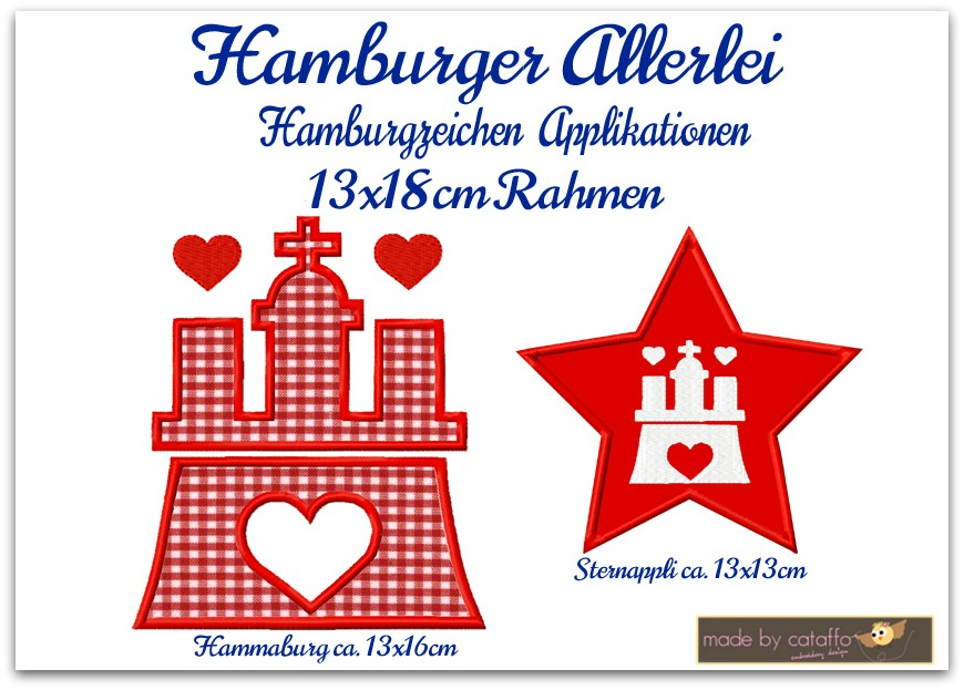 Hamburger Allerlei – Hamburgzeichen Hammaburg