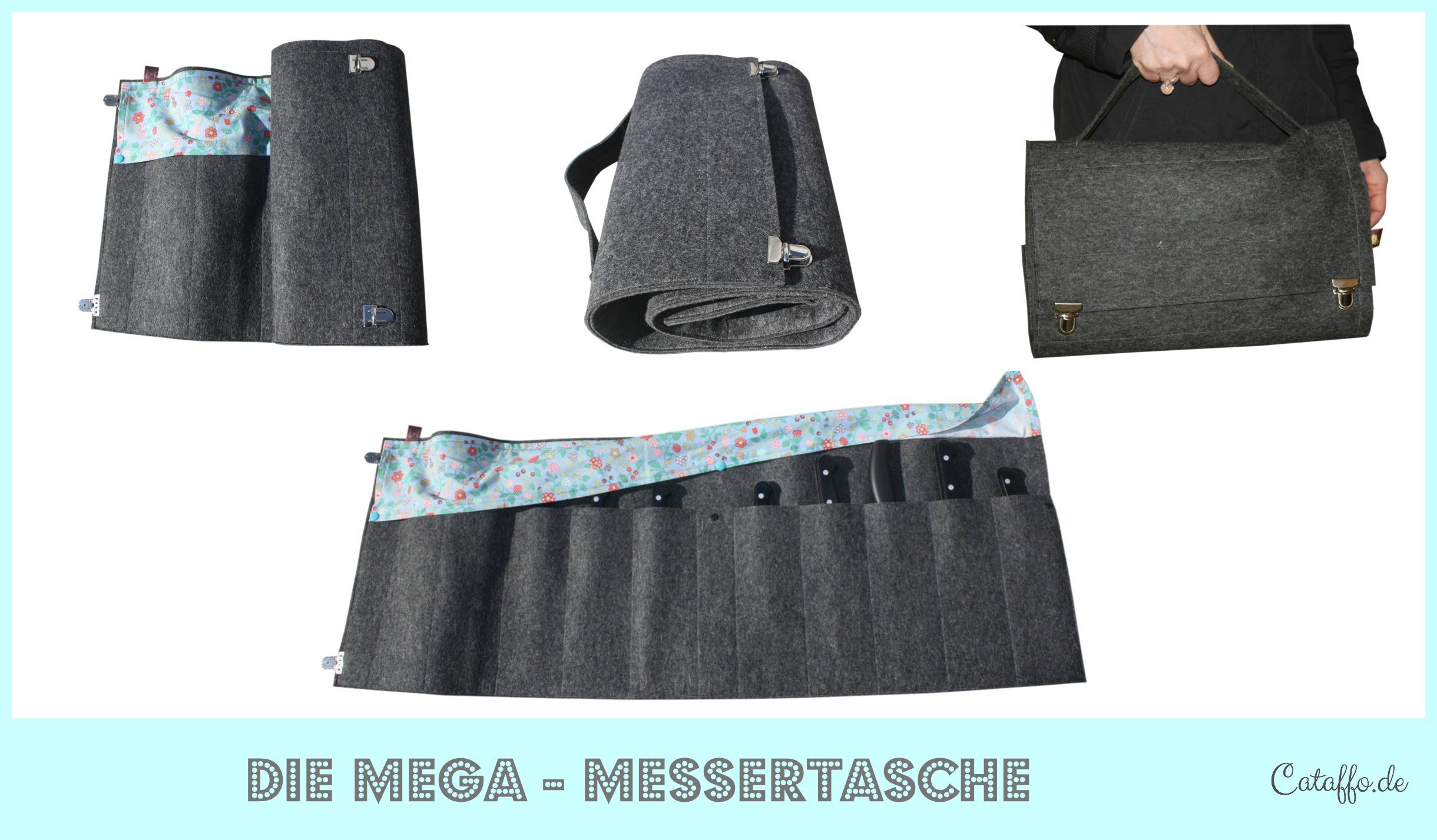 Mega – Messertasche