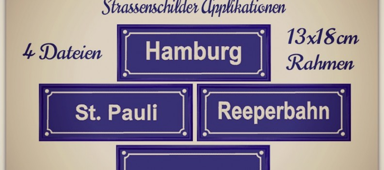 Hamburger Allerlei  –  Strassenschilder