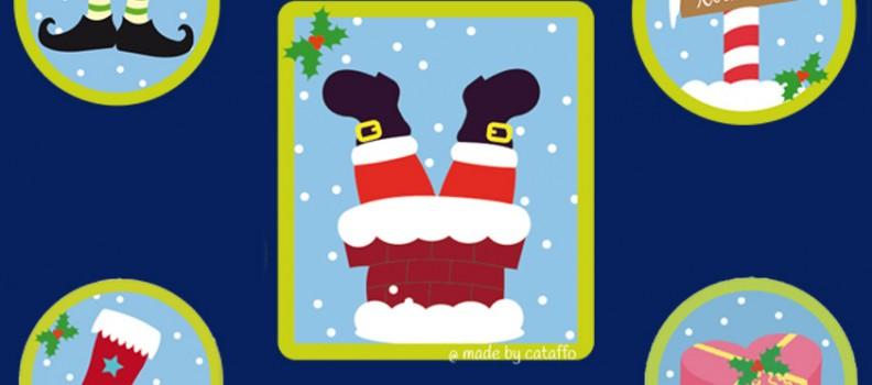 Made by cataffo – Stickdatei Plumpsing Santa
